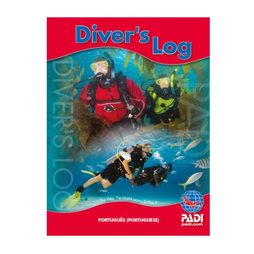 Divers Log, Red (Training Record Not Included) (70048 - Português)