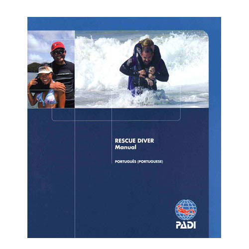 Rescue Diver Manual w/Slate (70080 - Português)