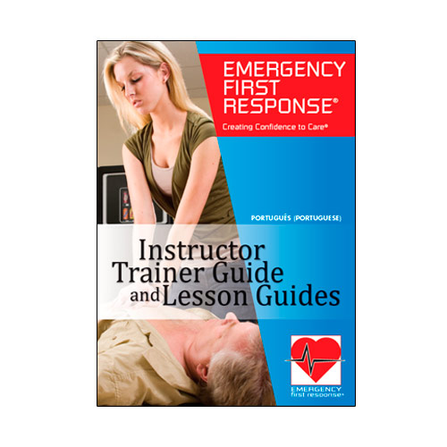 Emergency First Response  Instructor Course lesson Guides CD-ROM (70988- Português)
