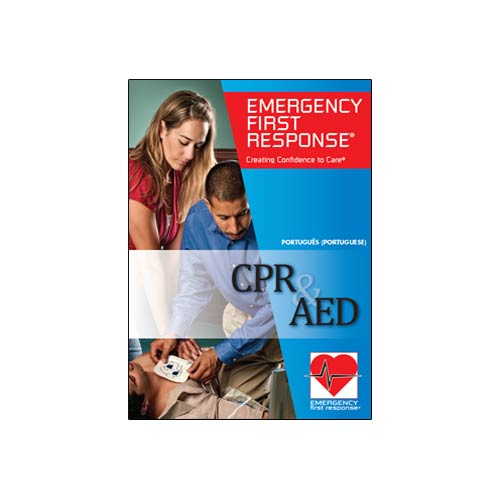 Emergency First Response CPR & AED Course DVD Participant (70995 - Português)