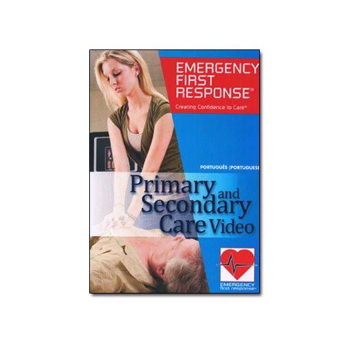 Emergency First Response Primary and Secundary Care DVD (70983 - Português)