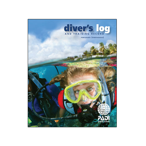 Divers Log, Blue (Includes Training Record) (70047 - Português)